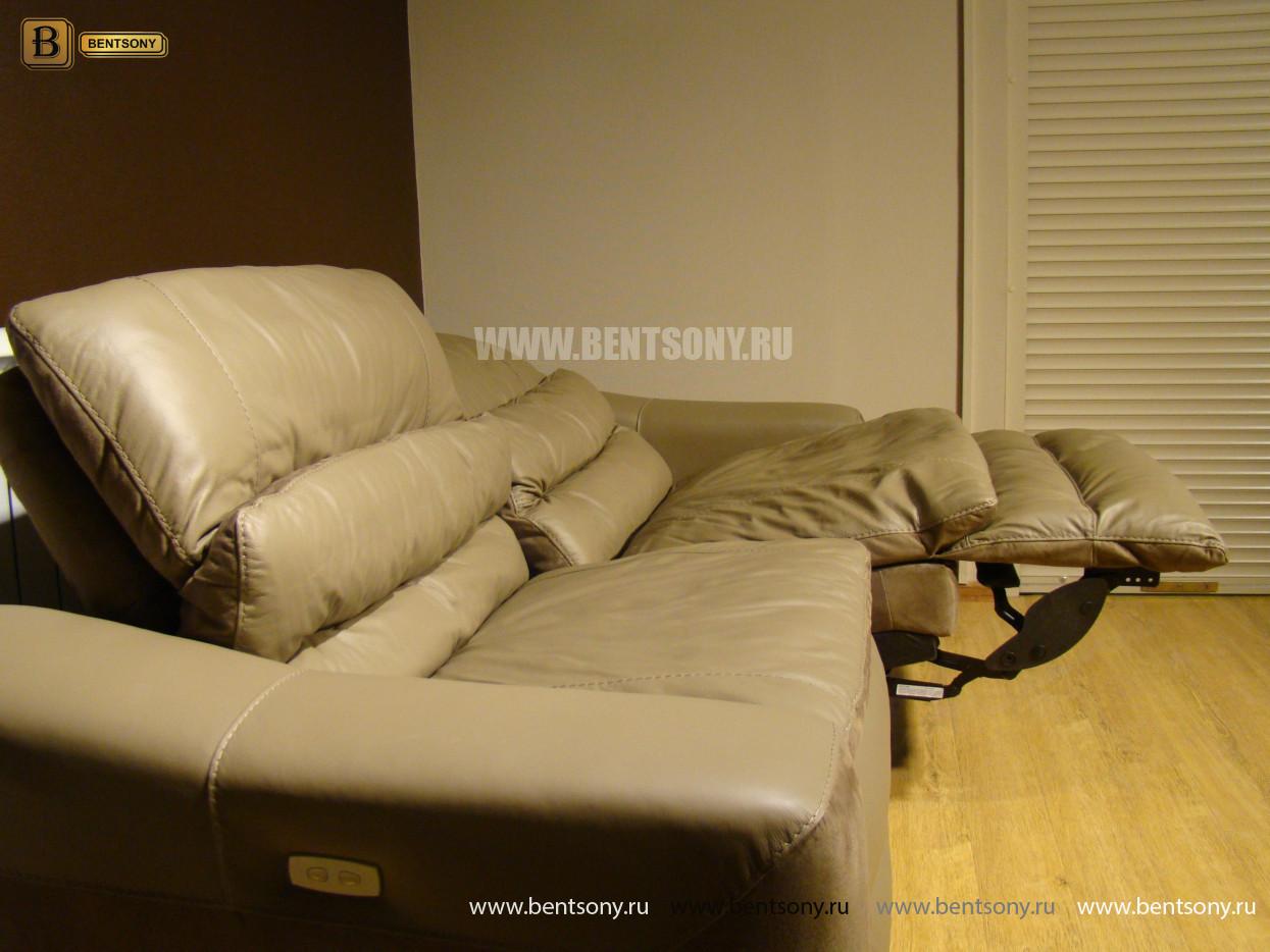 крутой кожаный диван купить