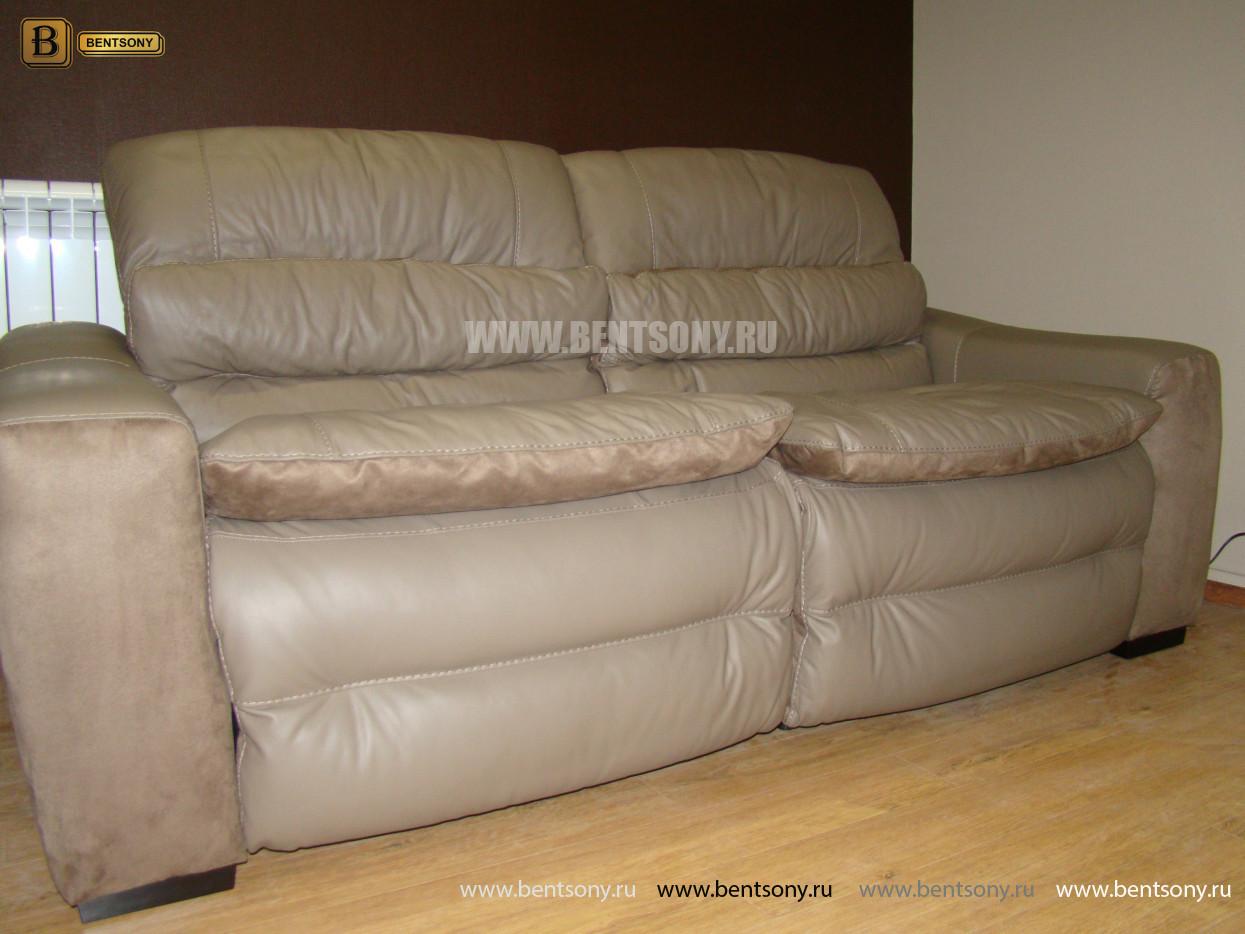 диван из натуральной кожи Урбано
