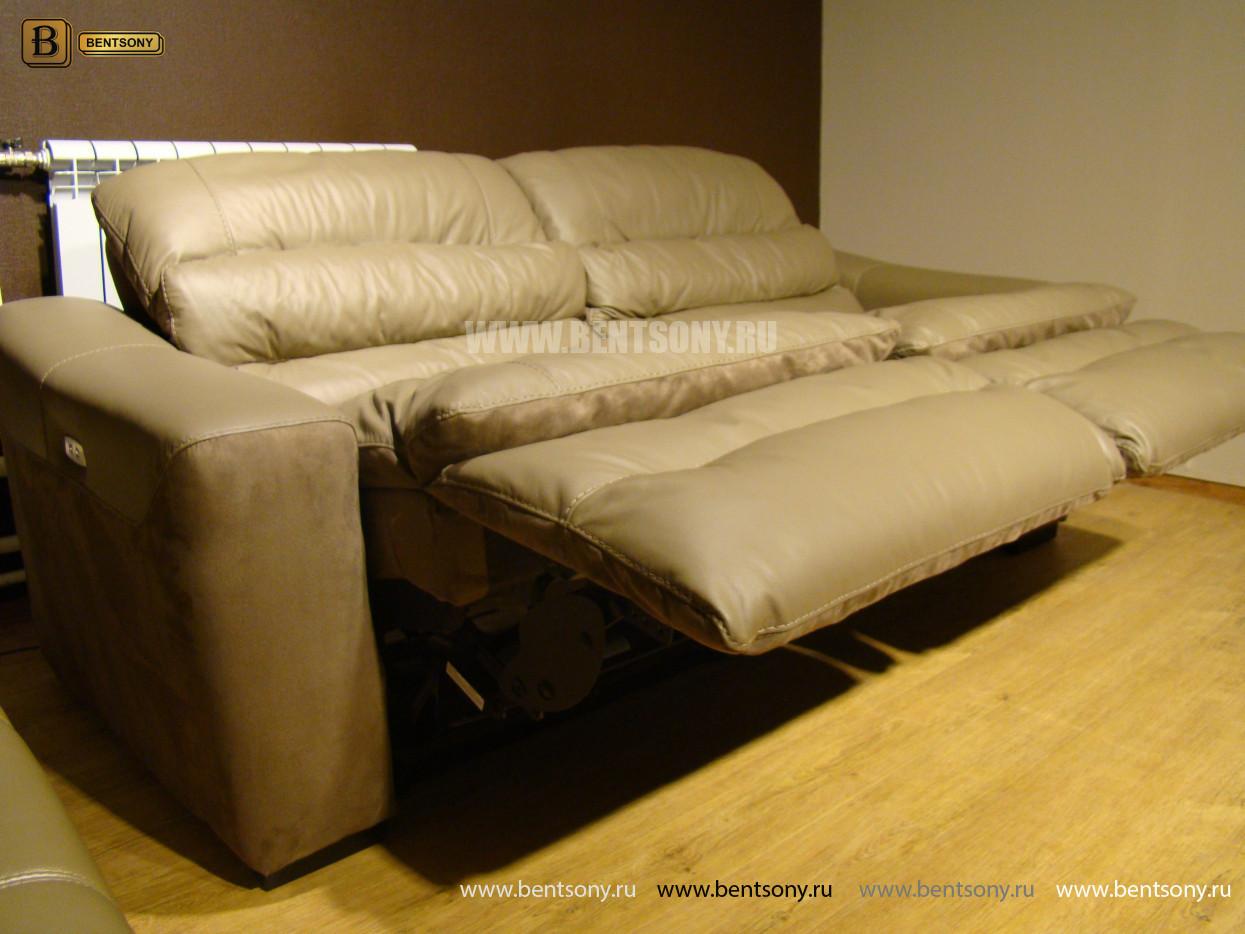 кожаная мебель диван прямой Урбано