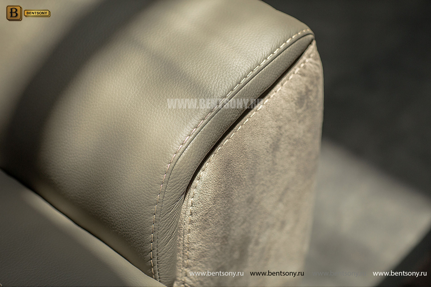 Диван Зенто (Натуральная кожа, Алькантара) каталог мебели с ценами