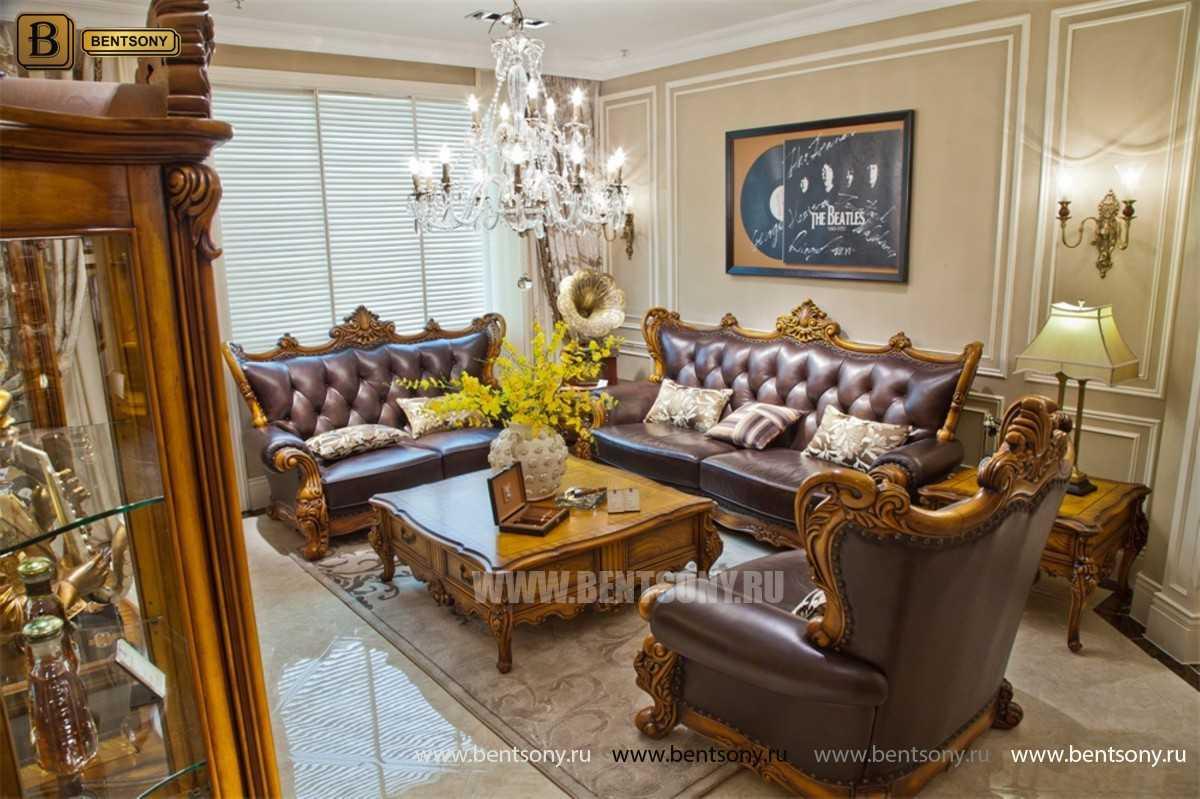 Кресло Дакота С (Натуральная Кожа) каталог мебели с ценами