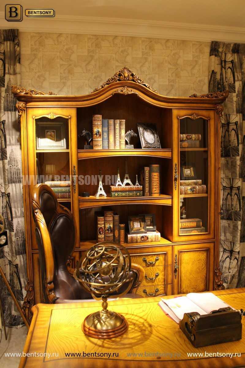 Шкаф Книжный Дакота (Классика, массив дерева)