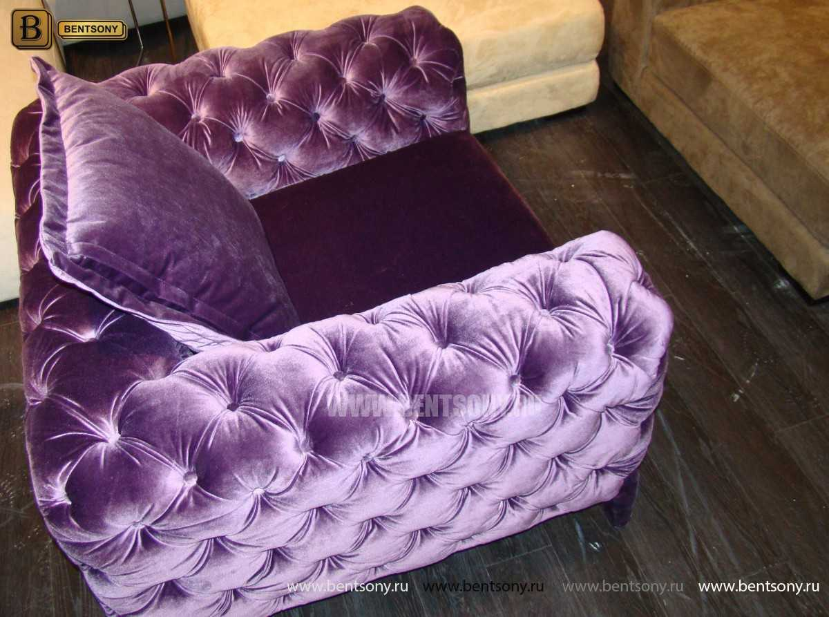 мягкая мебель Скиллачи цвет фиолетовый