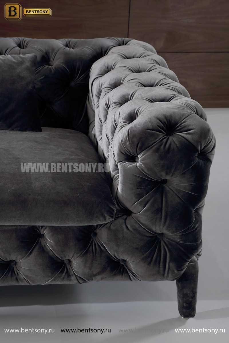 обивка велюровая цвет серый