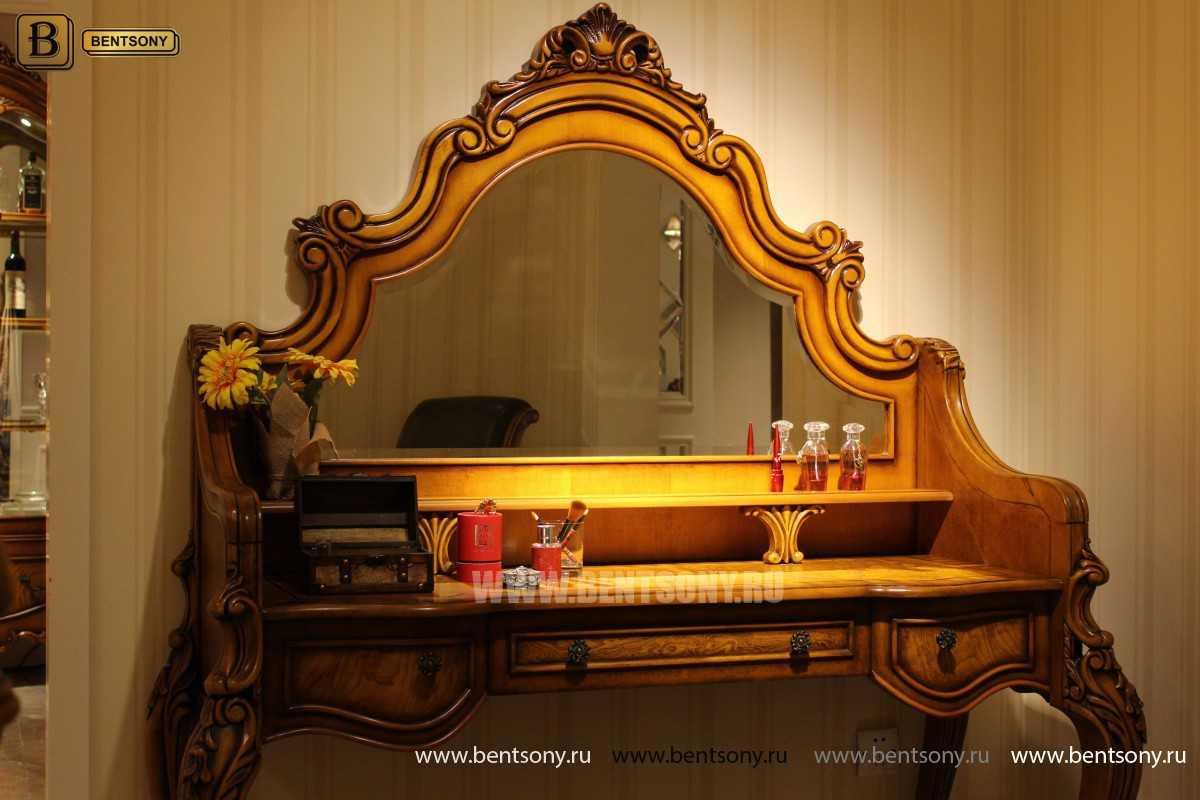 Стол туалетный Дакота с зеркалом (Классика, массив дерева) официальный сайт цены