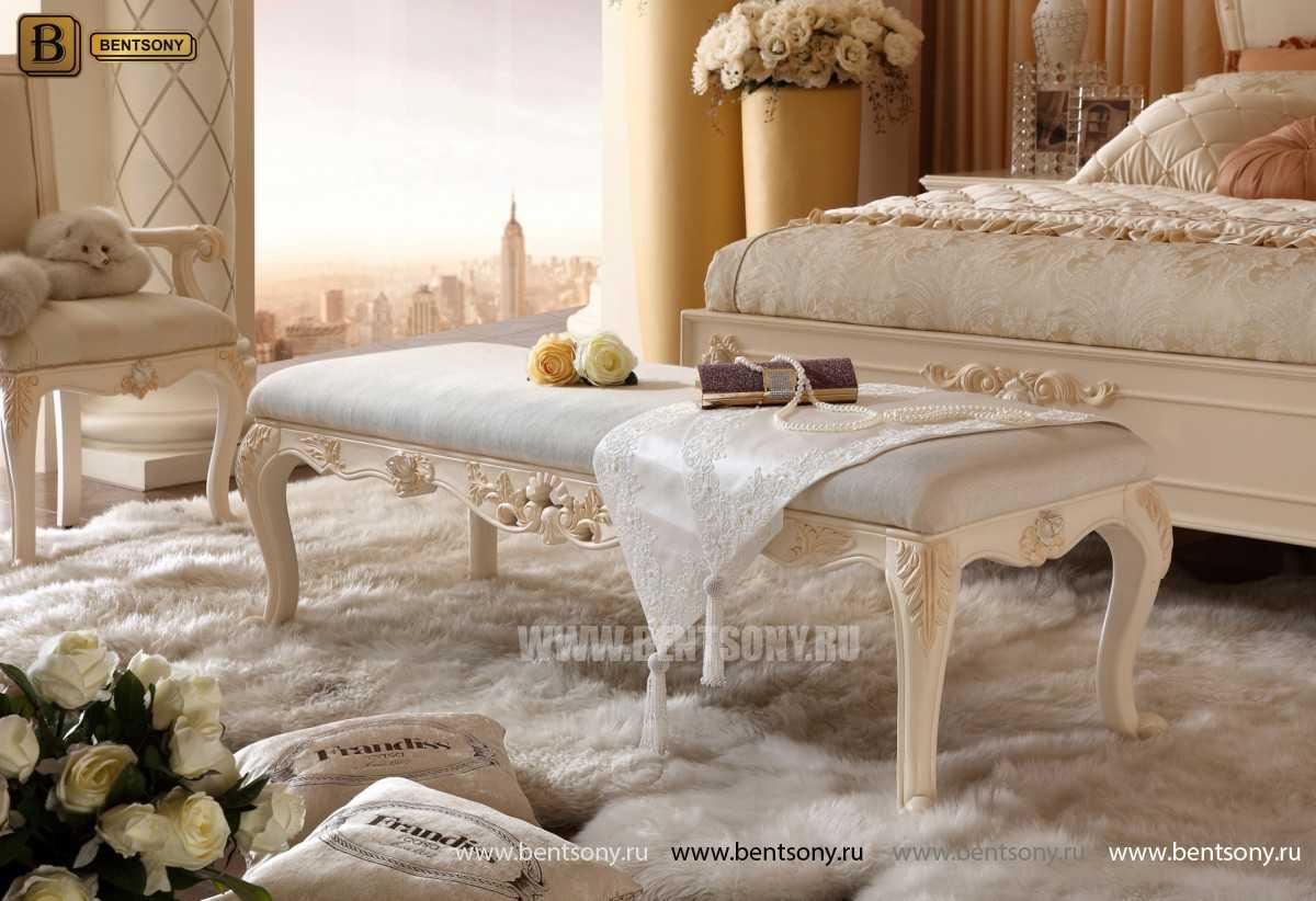 Спальня Амадео A (Классика, массив дерева)
