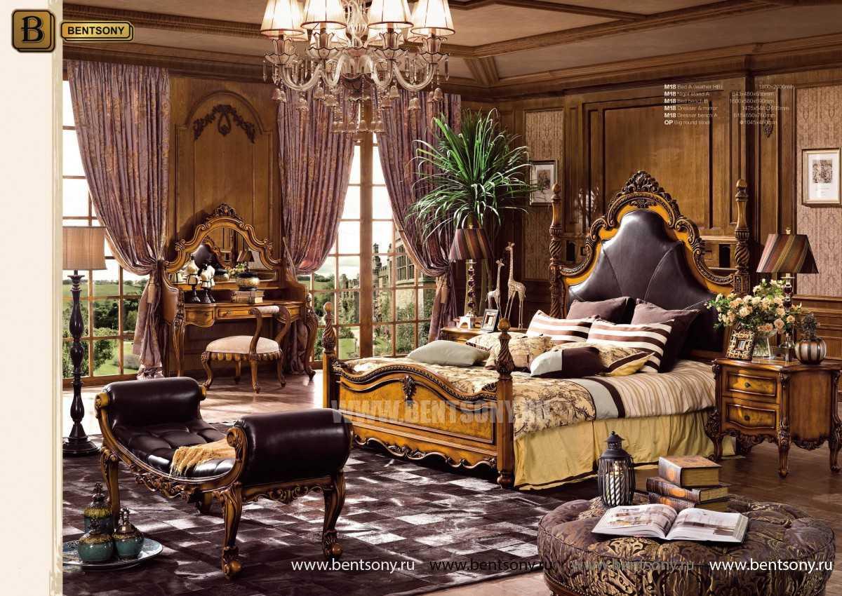 Спальня Дакота А (Классика, Натуральная Кожа) цена