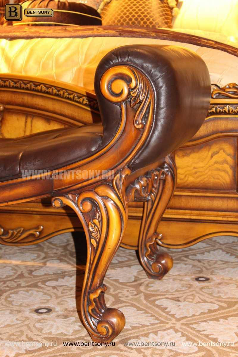 Спальня Дакота А (Классика, Натуральная Кожа) в интерьере