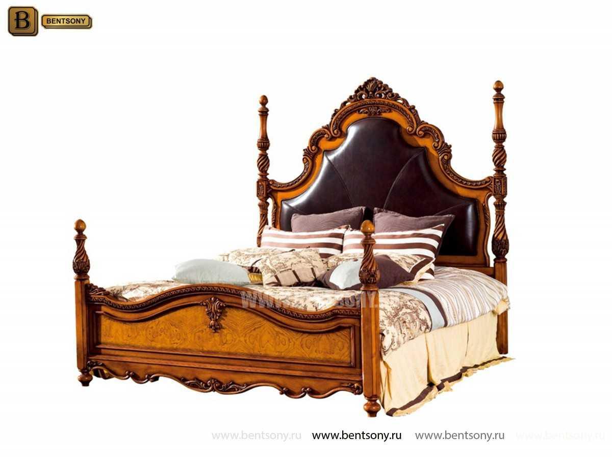 Спальня Дакота А (Классика, Натуральная Кожа) купить в СПб