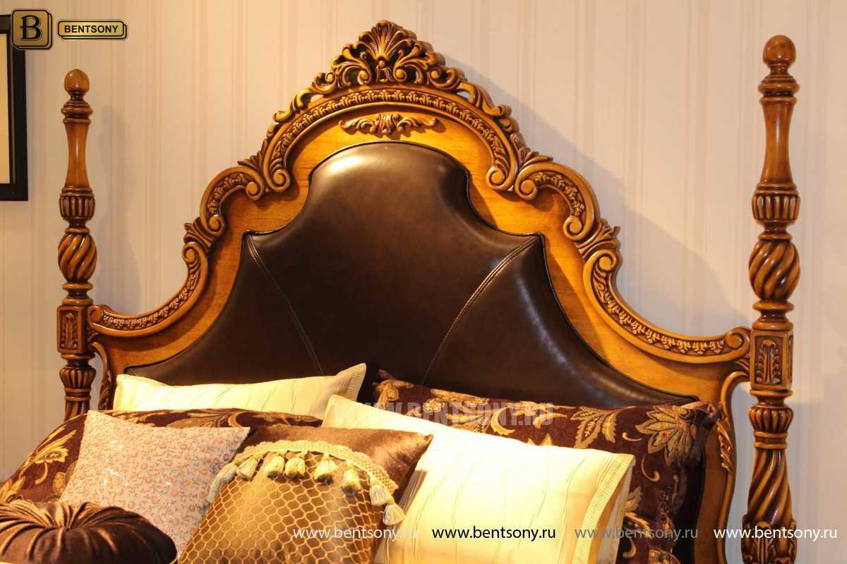 Спальня Дакота А (Классика, Натуральная Кожа) фото