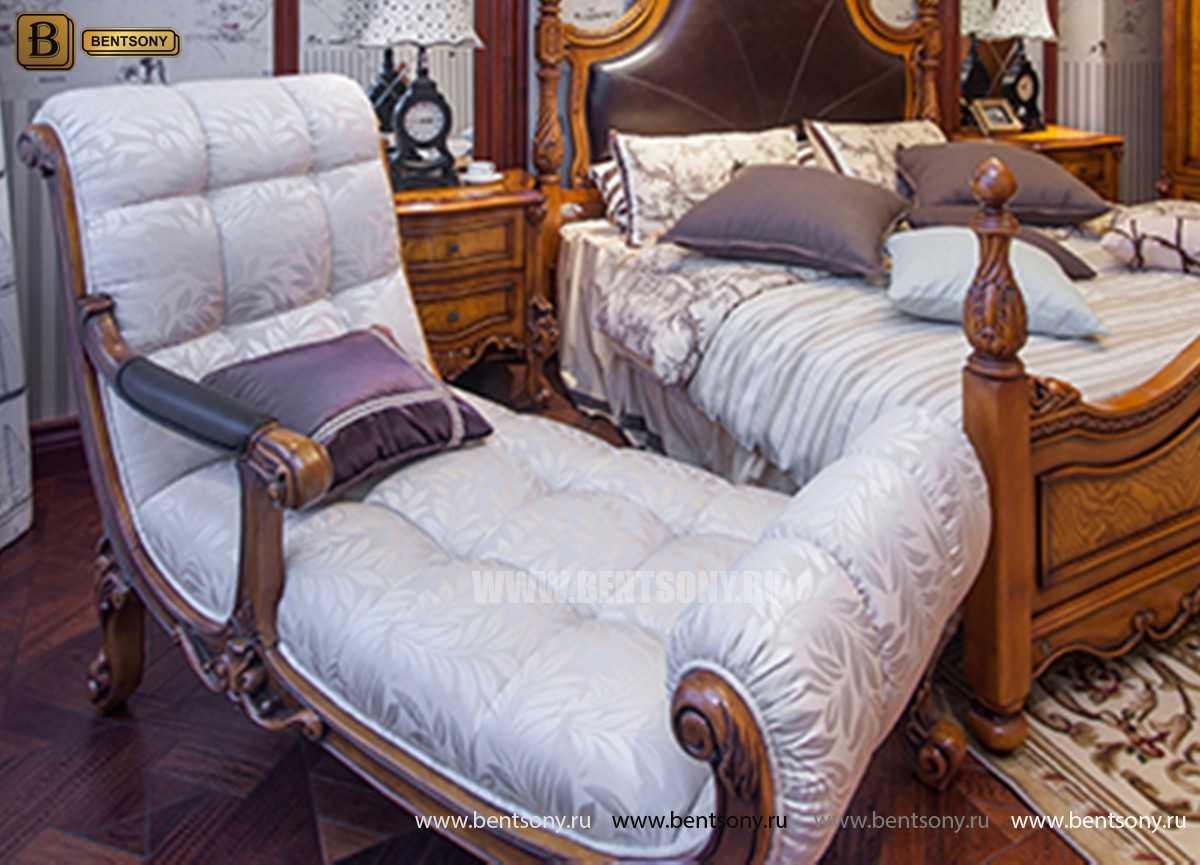 Спальня Дакота А (Классика, Натуральная Кожа) каталог мебели с ценами