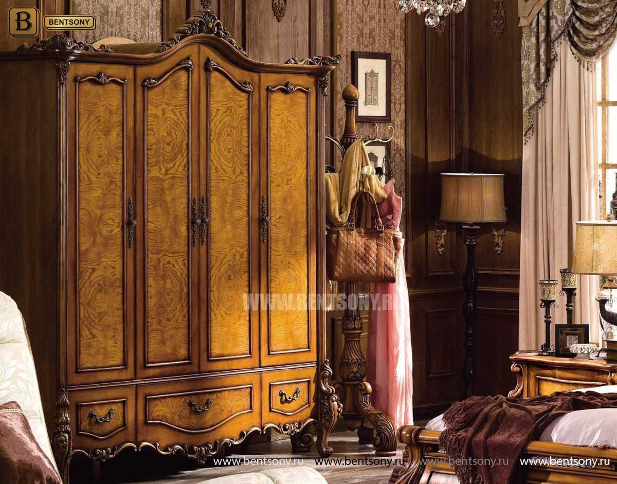 Спальня Дакота А (Классика, Натуральная Кожа) для квартиры