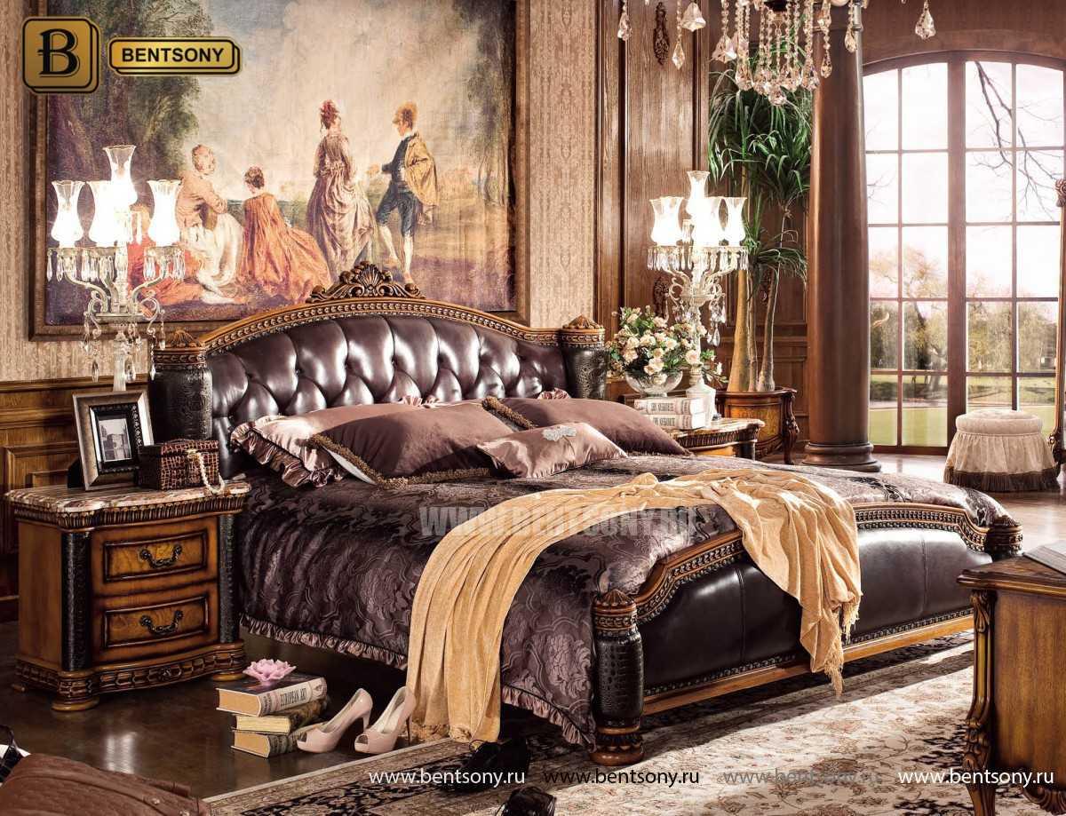 Спальня Дакота B (Классика, Натуральная Кожа) купить