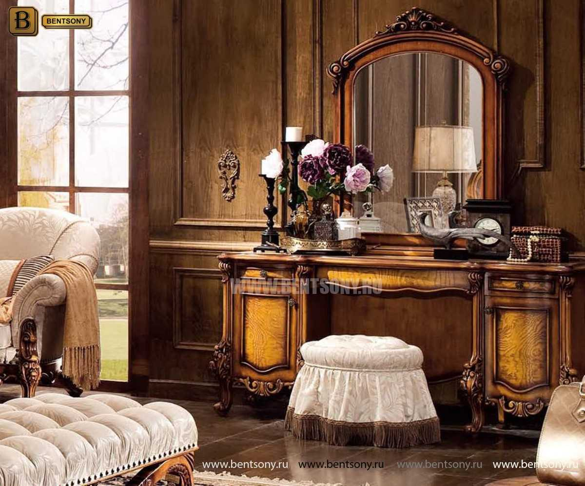 Спальня Дакота D (Классика, массив дерева) фото