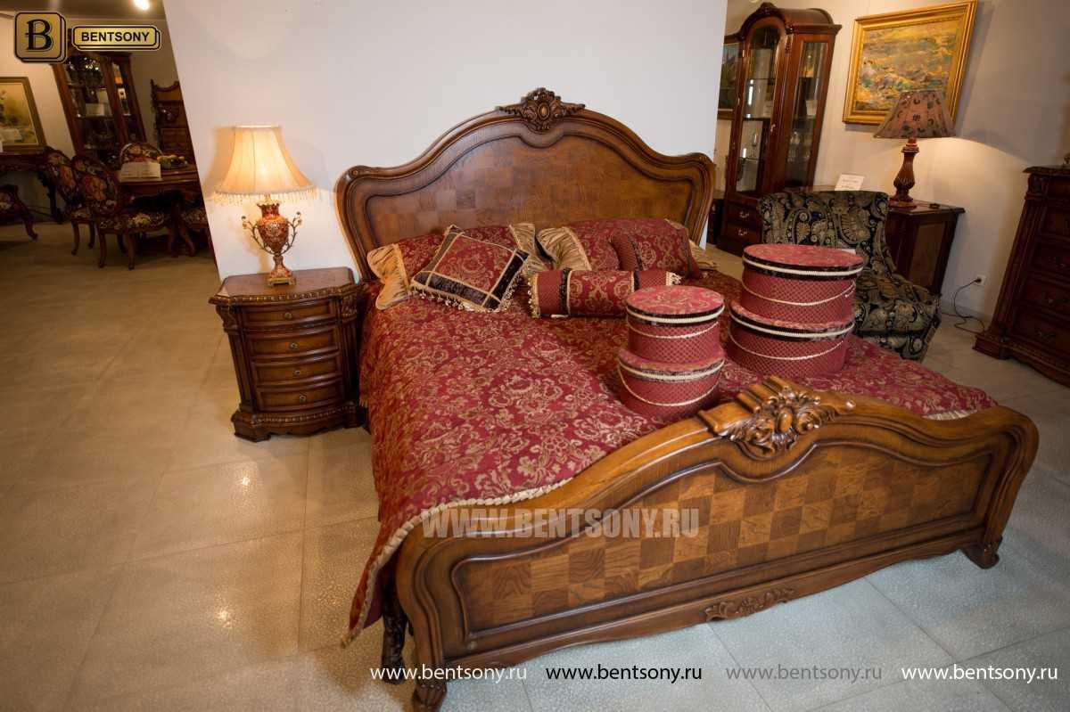 Кровать Монтана D (Классика, массив дерева) для дома