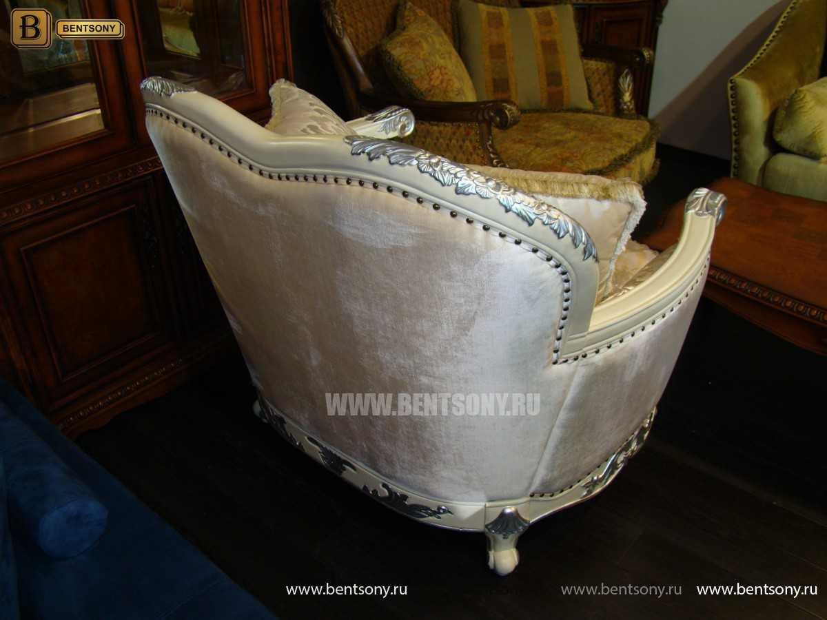 Кресло Амадео (Классика, массив дуба, патина) купить