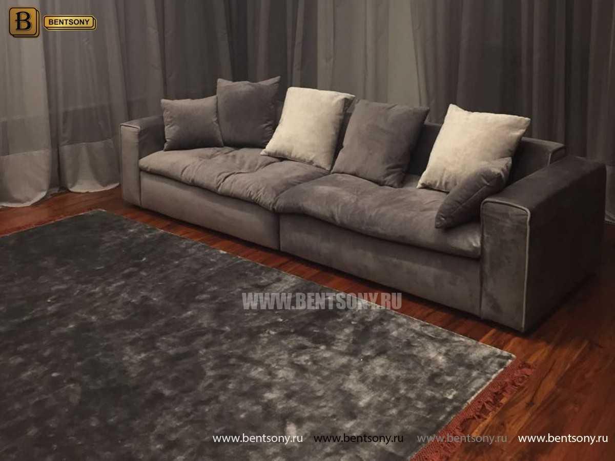 Мягкий диван Бениамино в интерьере