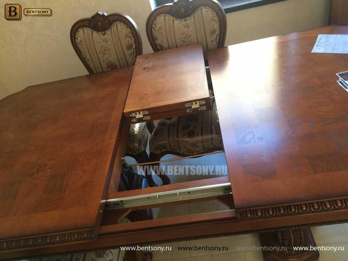 Обеденный стол Монтана (Раскладной, массив дерева) каталог с ценами