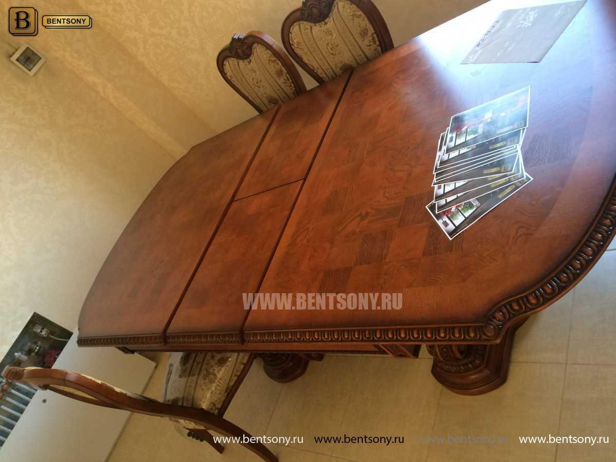 Обеденный стол Монтана (Раскладной, массив дерева) интернет магазин