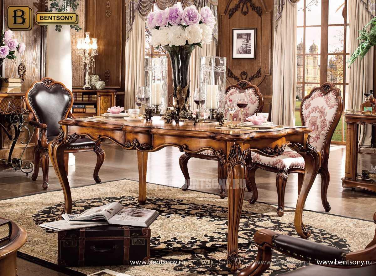 Обеденный стол Дакота классический (Массив дерева) фото