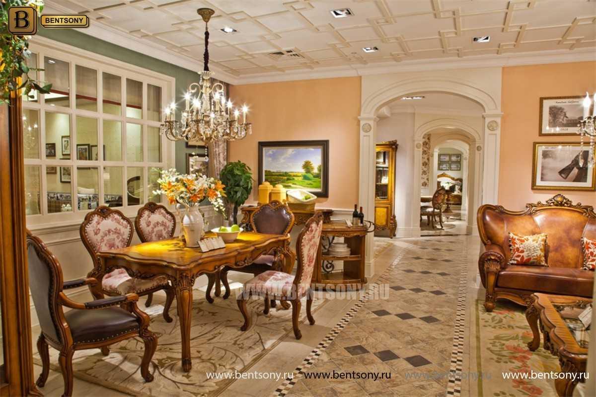 Обеденный стол Дакота классический (Массив дерева) каталог с ценами