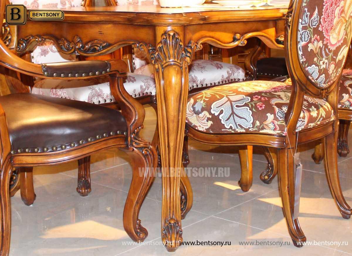 Обеденный стол Дакота классический (Массив дерева) купить в СПб