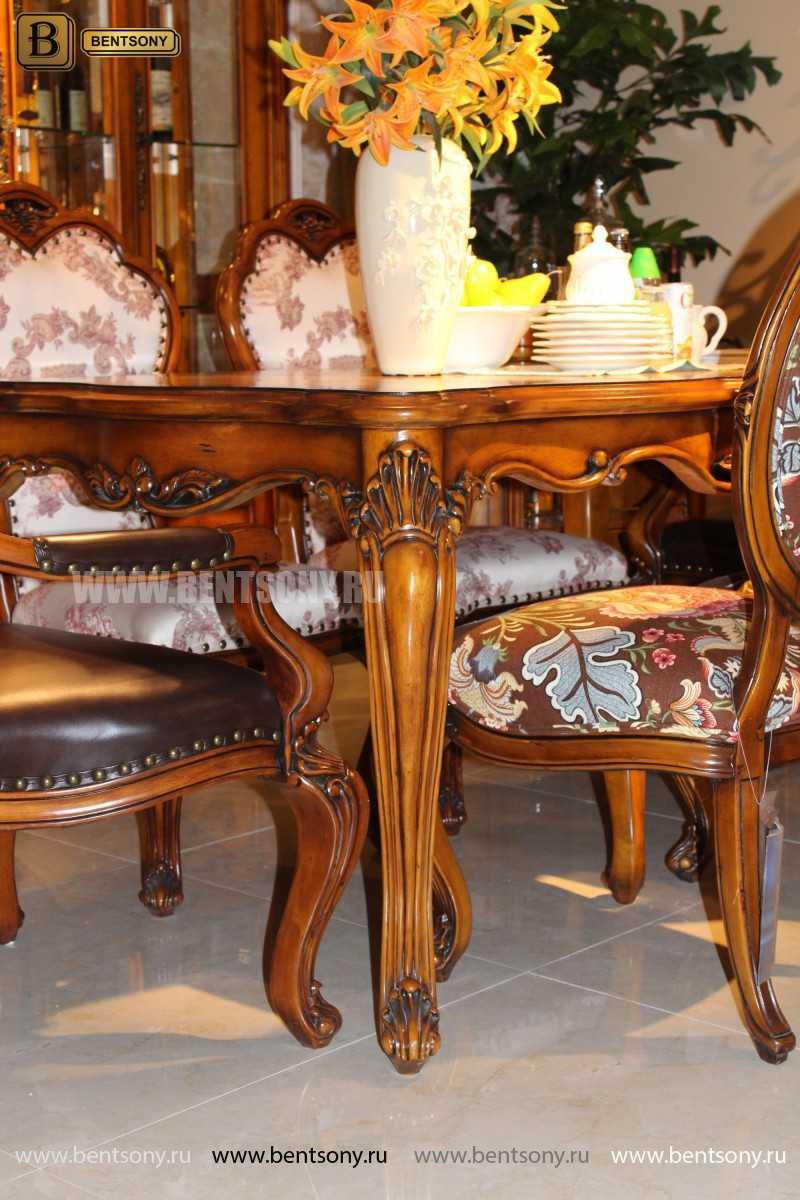 Обеденный стол Дакота классический (Массив дерева) купить в Москве