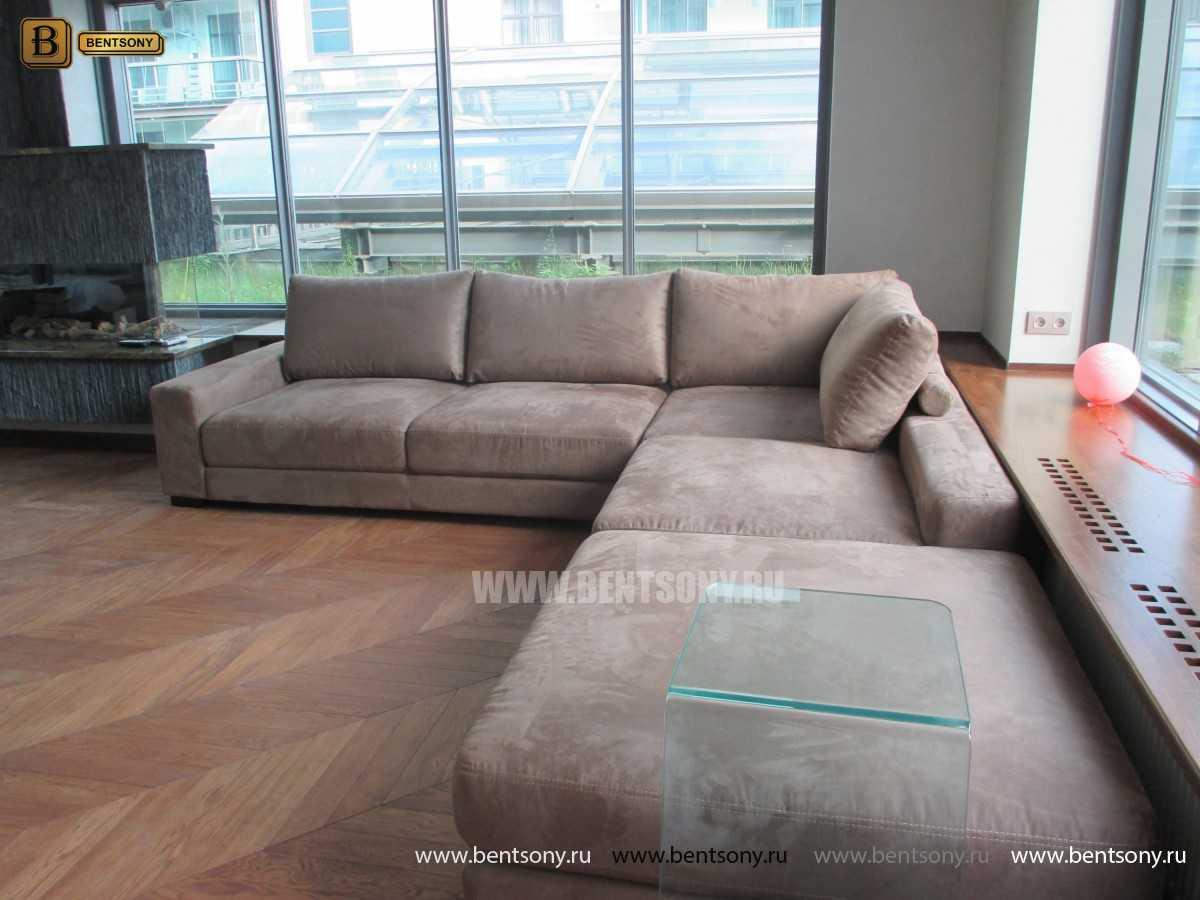 угловой диван Луиджи в гостиной фото