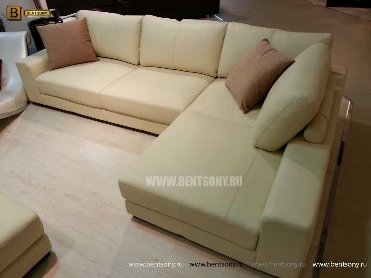 купить угловой диван замша спб