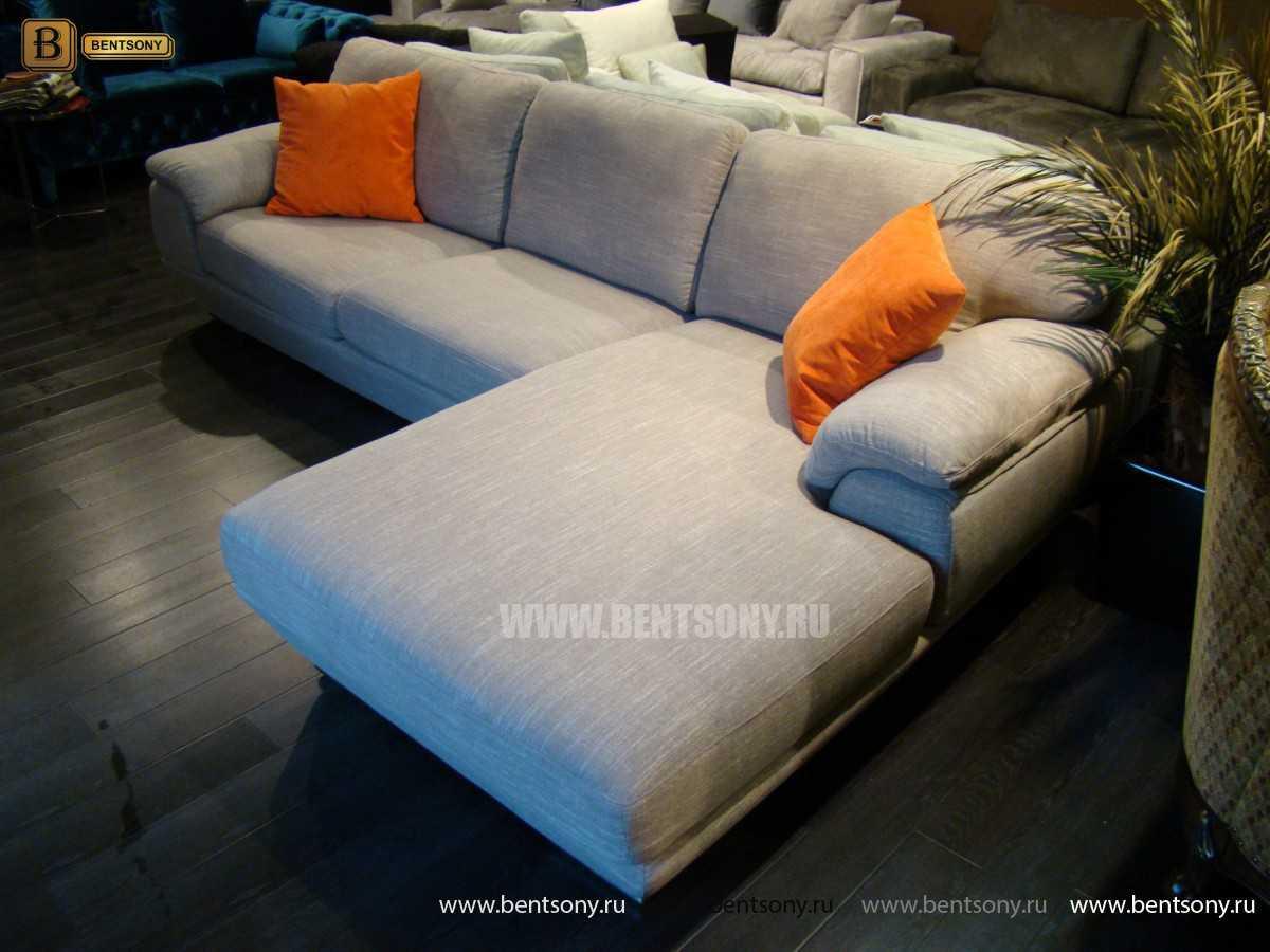 тканевый диван в гостинную купить