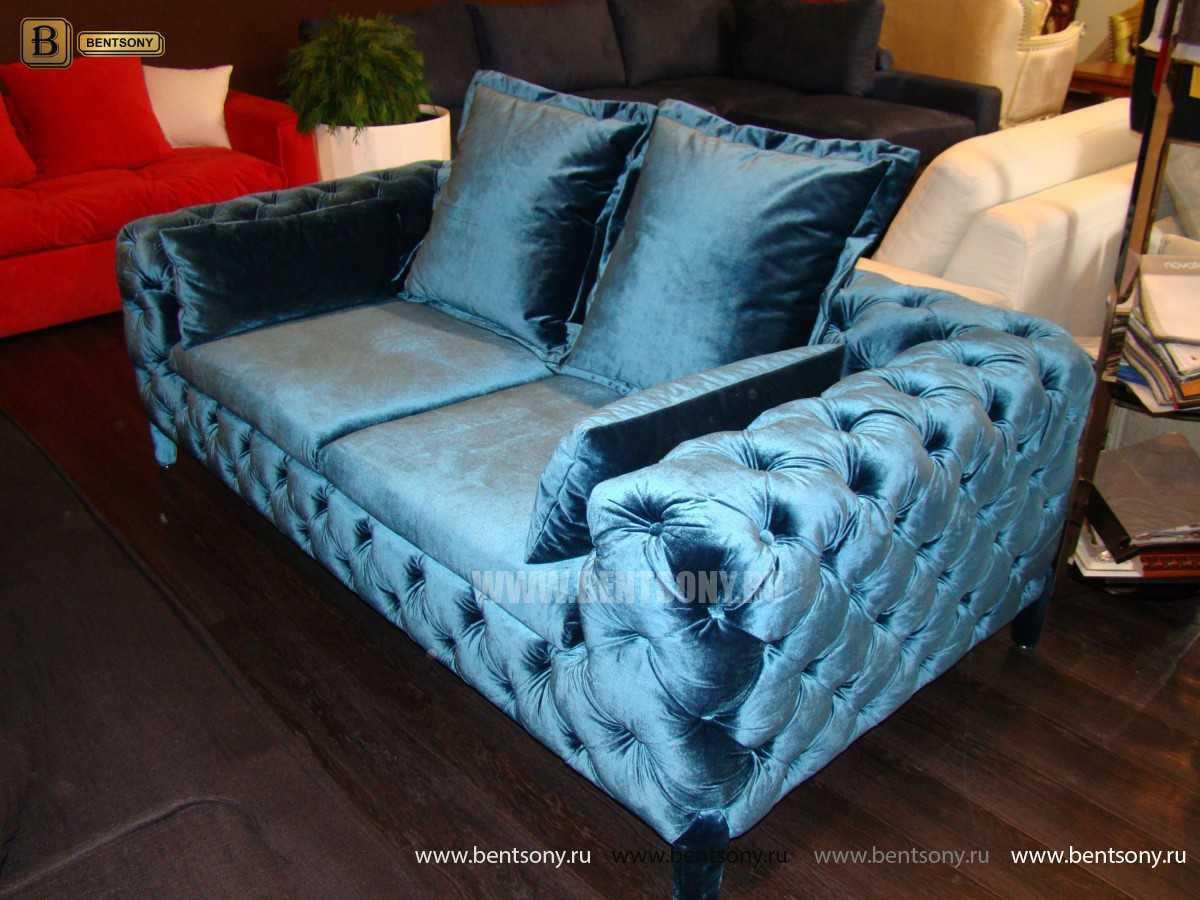 стильный диван капитоне Скиллачи