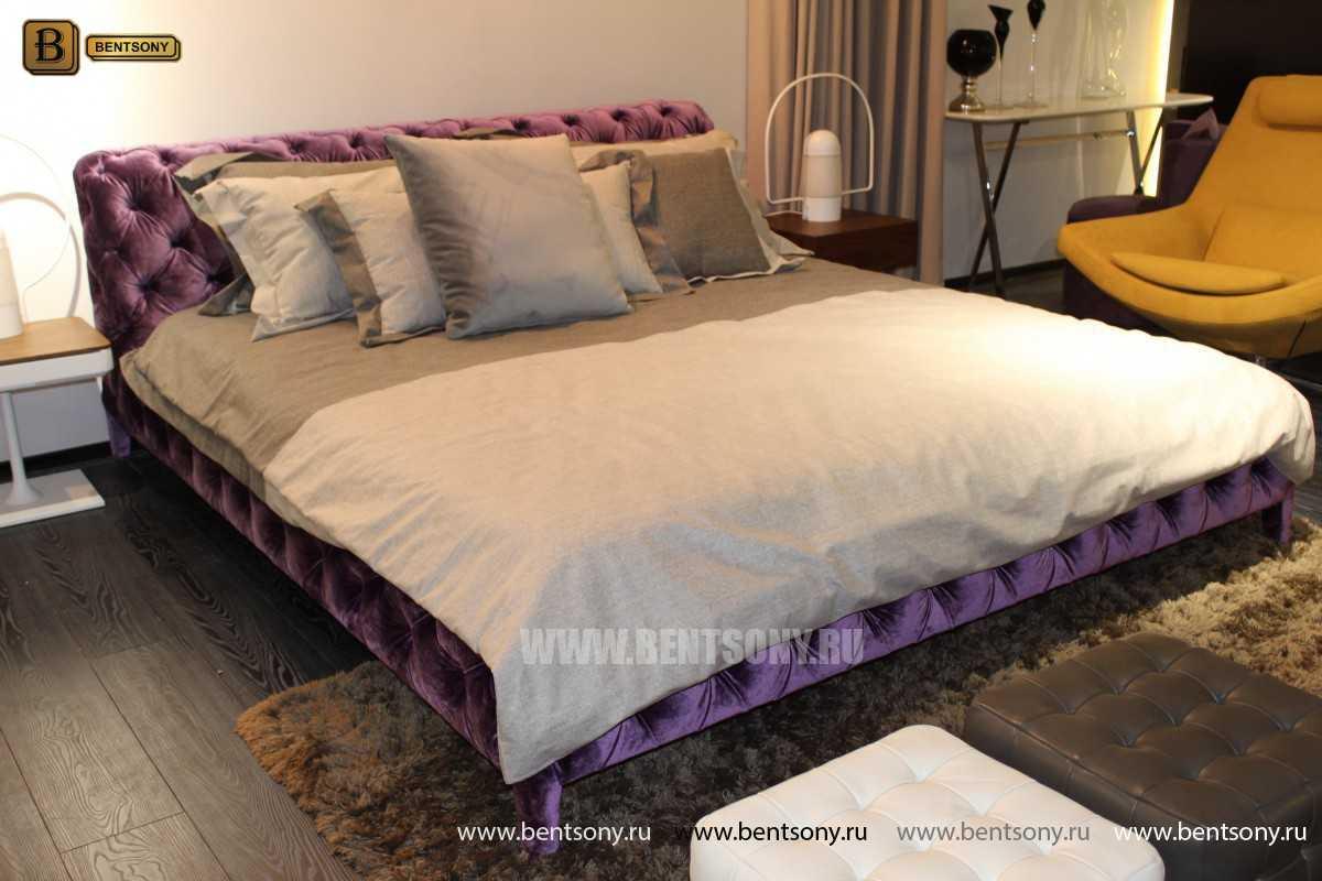 стильная фиолетовая кровать Скиллачи