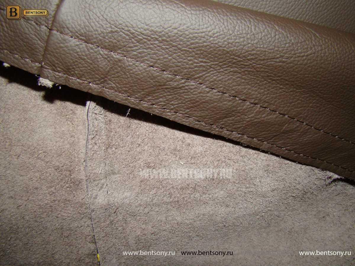 обивка дивана Лексус натуральная кожа