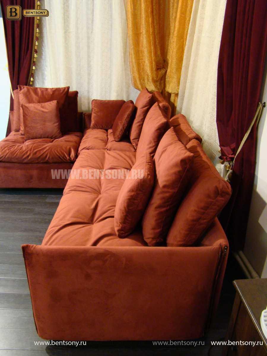 модульный красный диван купить спб