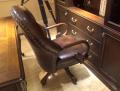 Кресло Крофорд (Вращается, натуральная кожа) в Москве