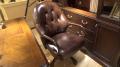 Кресло Крофорд (Вращается, натуральная кожа) в интерьере