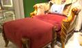 Кресло классическое для отдыха Лоренс с подушкой (Ткань)