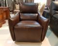 Кресло Порто цвет коричневый (Реклайнер, Натуральная кожа) каталог мебели