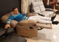 Кресло Прецо с реклайнером (Механизм качания, Ткань) купить в Москве