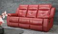 красивый красный диван Рубен