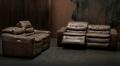 кожаные диваны реклайнеры Урбано