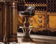 Барный стул (Кресло) Дакота (Натуральная кожа)