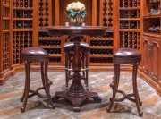 Стул барный (Кресло) Крофорд (Натуральная кожа) каталог мебели