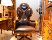 Кресло Кабинетное Дакота А (Классика, натуральная кожа) в СПб