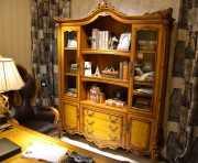 Шкаф Книжный Дакота (Классика, массив дерева) купить