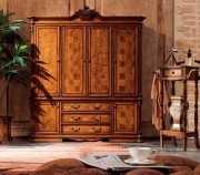 Шкаф 4-х дверный Феникс (Классика, массив дерева) купить