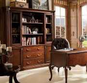 Шкаф Книжный Крофорд (Классика, массив дерева)