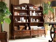 Книжный шкаф-этажерка Крофорд (Классика, массив дерева) официальный сайт цены