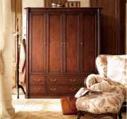 Шкаф 4-х дверный Крофорд (Массив дерева, Классика) официальный сайт цены