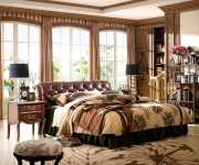 Кровать Крофорд D (Классика, Натуральная кожа)